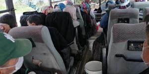 Şehirlerarası yolcu taşıyan 27 araca ceza