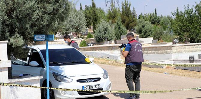 Gaziantep'te mezarlıkta silahlı kavga