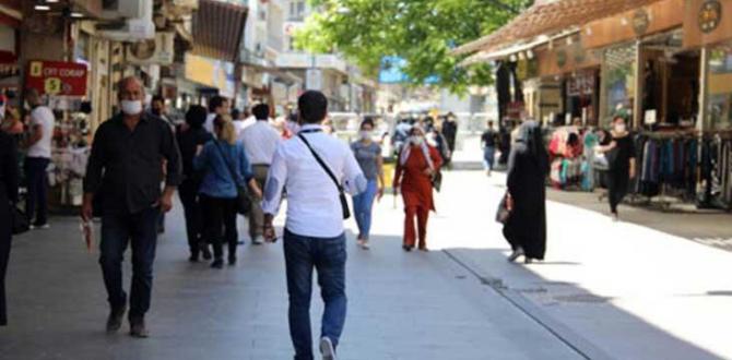 Gaziantep'te maske  ve  mesafe cezası