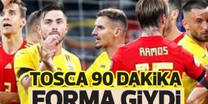 TOSCA 90 DAKiKA FORMA GİYDİ