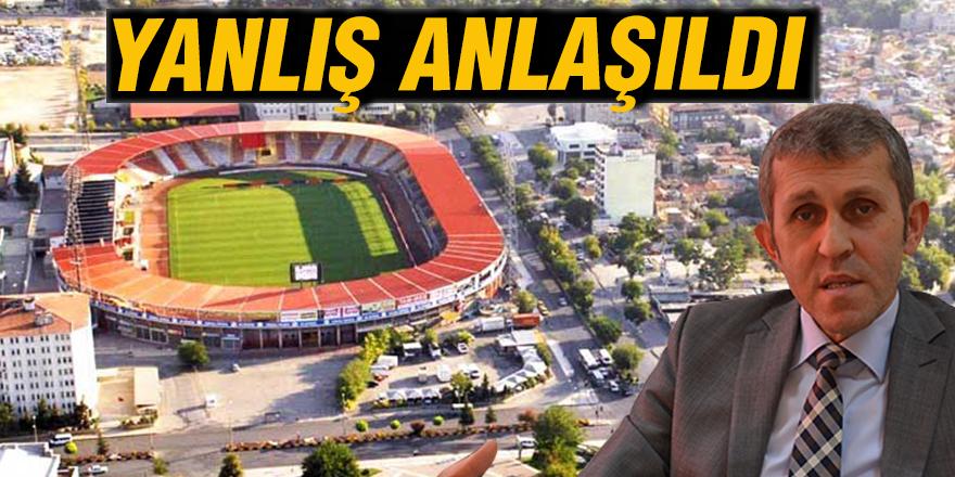 Kamil Ocak Stadyumu'nun yerine meydan yapılması düşünülüyor