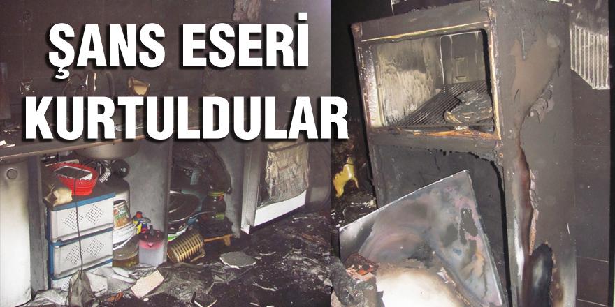 6 Çocuk Annesi Kadın'ın Evinde Yangın Çıktı
