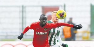 Gaziantep Futbol Kulubü 1 puanı kaptı