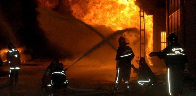 Gaziantep'te sanayi sitesinde yangın