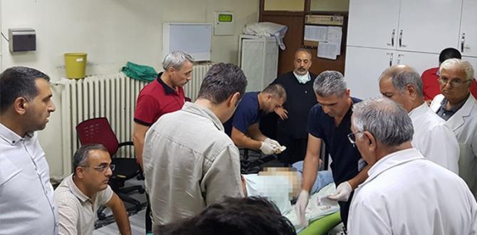 Gaziantep'te Göz Doktoruna Bıçaklı Saldırı