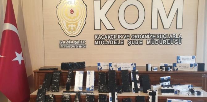 Polis Sigara Kaçakçılarına Göz Açtırmıyor