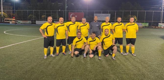 Gaziantep'de Muhtarlar İçin Futbol Ligi Düzenlendi
