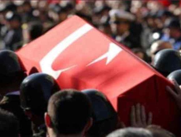 Gaziantep'te Şehit Asker İçin Tören