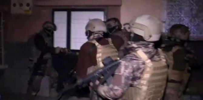 Gaziantep'te dev uyuşturucu operasyonları devam ediyor