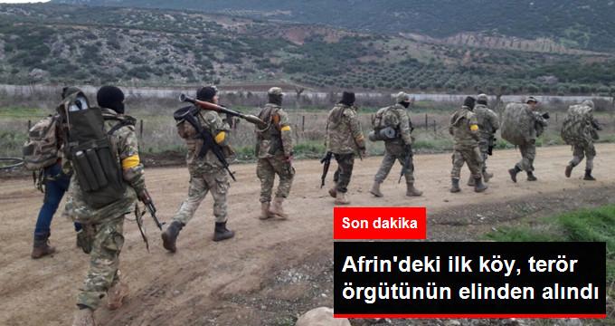 Son Dakika! Afrin'de İlk Köy, Terör Örgütü PYD'nin Elinden Alındı