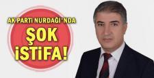 AK Parti Nurdağı'nda İstifa!