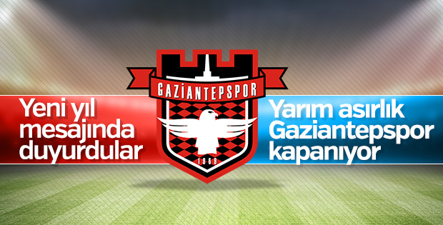 GaziantepSpor kapandı