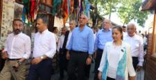 Bakan Ersoy, Gaziantep'te Esnaf Ziyaretlerinde Bulundu