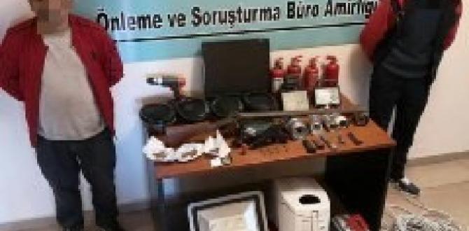 Gaziantep'te kapkaç ve evden hırsızlık