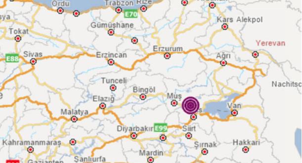 Muş ve Malatya'da art arda korkutan depremler