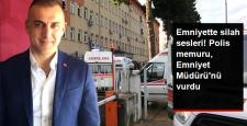 Rize Emniyet Müdürü Altuğ Verdi, Bir Polis Memuru Tarafından Vuruldu
