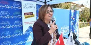 Fatma Şahin'den Çiftçilere Tebrik