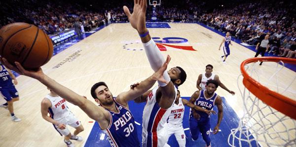 Milli Basketbolcu Furkan Korkmaz, NBA'de Maçın Adamı Seçildi