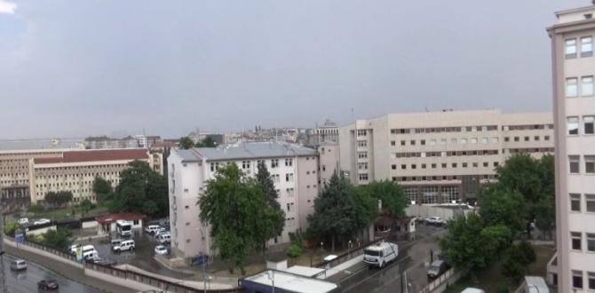 Gaziantep Gök Gürültüsü İle İrkildi