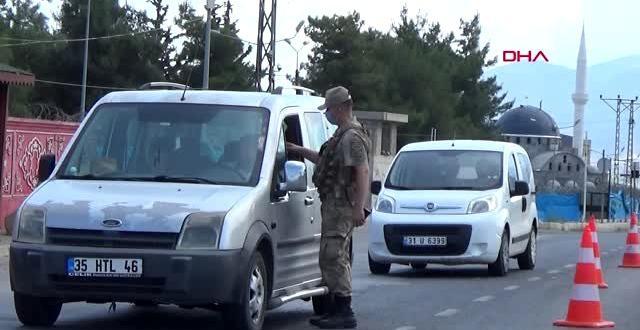 GAZİANTEP Jandarmadan bayram öncesi trafik denetimi