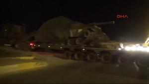 Gaziantep Suriye Sınırına Askeri Sevkiyat