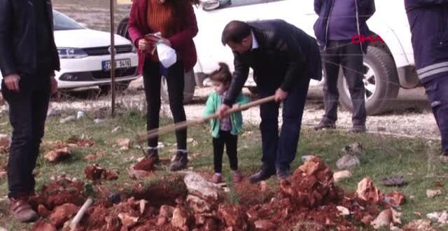 Gaziantep'te Bağlarbaşı Hatıra Ormanı'nın İlk Fidanları Dikildi