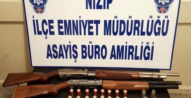 Gaziantep'te düğünde silah sıkan şüpheli yakalandı