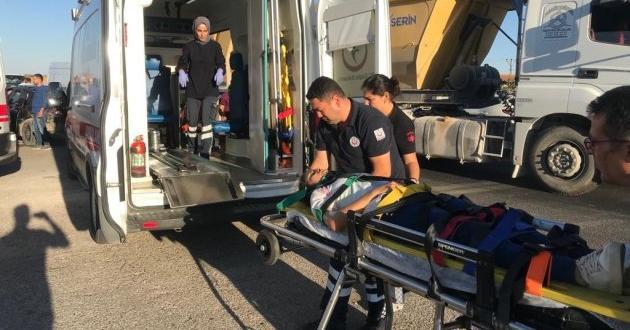 Gaziantep'te İki Otomobil Çarpıştı: 4 Yaralı