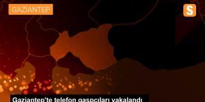 Gaziantep'te Telefon Gaspçıları Yakalandı