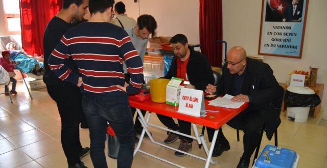 Gaziantep'te Veli ve Öğretmenlerden Kan Bağışı