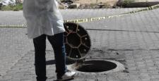 Kanalizasyonda El Bombası Bulundu