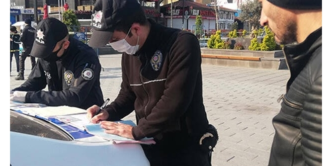 Gaziantep'te 2 bin 70 kişiye  ceza