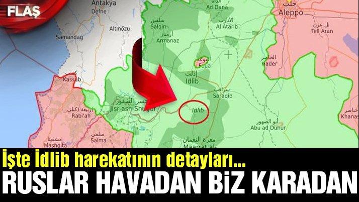 Son dakika… TSK, Suriye'ye giriyor… Hedef: İdlib