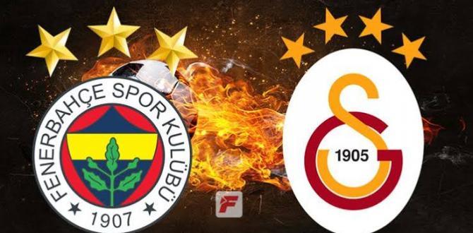 Galatasaray, Fenerbahçe'yi deplasmanda 21 yıl sonra yendi