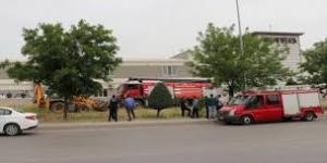 Gaziantep'te İtfaiye Aracı Kaza Yaptı: 2 Yaralı