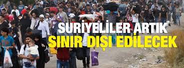 Gaziantep'te Suriyeliler Suç ,İşlerse, Kesin Sınır Dışı