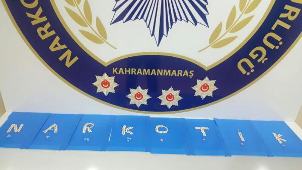 Kahramanmaraş'ta Uyuşturucu Operasyonuna 2 Gözaltı