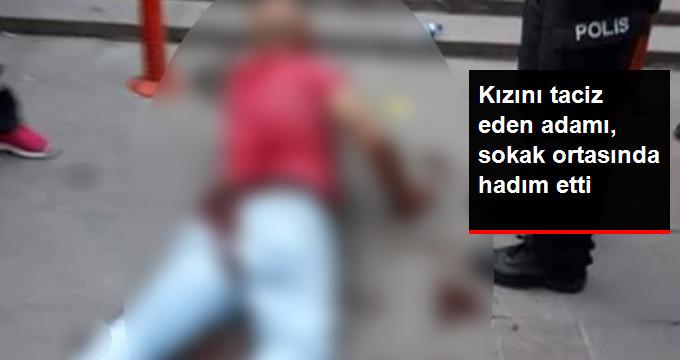 Ankara'da Baba, Kızını Taciz Ettiği İddia Edilen Adamı Sokak Ortasında Hadım Etti
