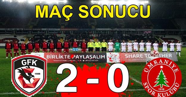 Gazişehir 2 – Ümraniyespor 0
