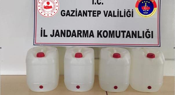 Gaziantep'te sahte dezenfektan operasyonu