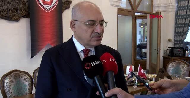 Türkiye'nin önemli bir takımı olmak istiyoruz