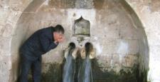 Yağışlar, 10 Yıldır Su Akmayan Çeşmeden Su Akıttı