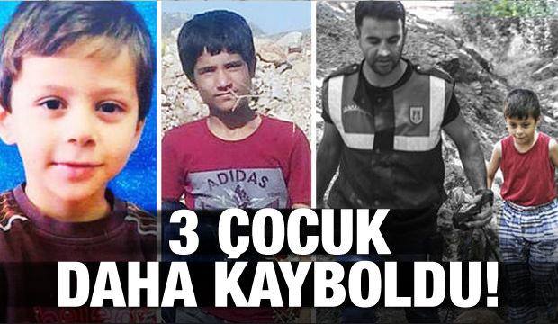 Ufuk, Yusuf, Salih… 3 çocuk daha kayboldu